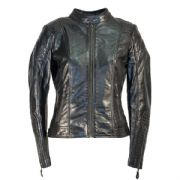 Richa Lausanne Ladies Leather Jacket Black